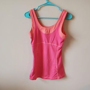 Lucy Womens Athletic Workout Tank Size Small